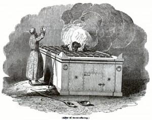burnt altar