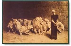 Daniel lion den